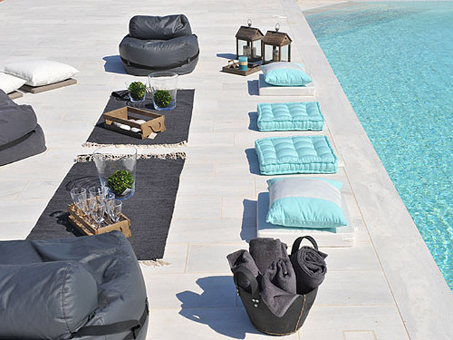 Stagones Luxury Villas - Pool Area