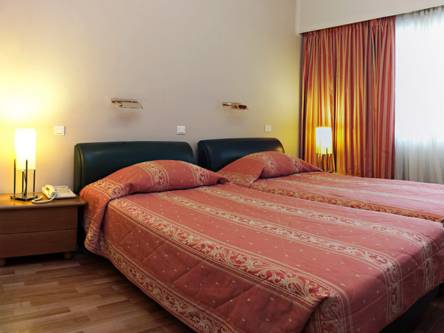 Parnon Hotel Athens - Twin Bed Room
