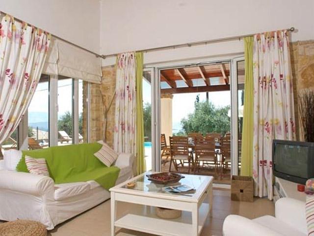 Villa Santa Barbara - Living Room