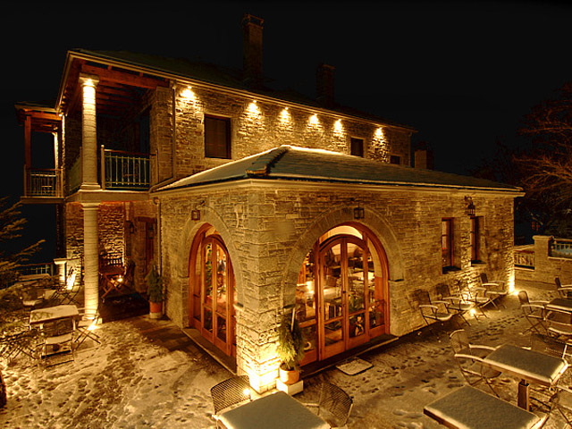 Melina Hotel - Exterior View at Night
