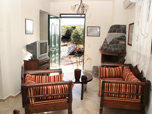 Villa Geropotamos - Living room