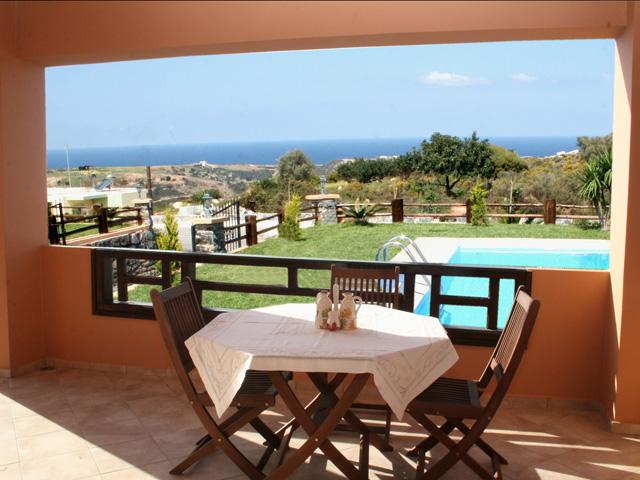 Villa Geropotamos - Balcony