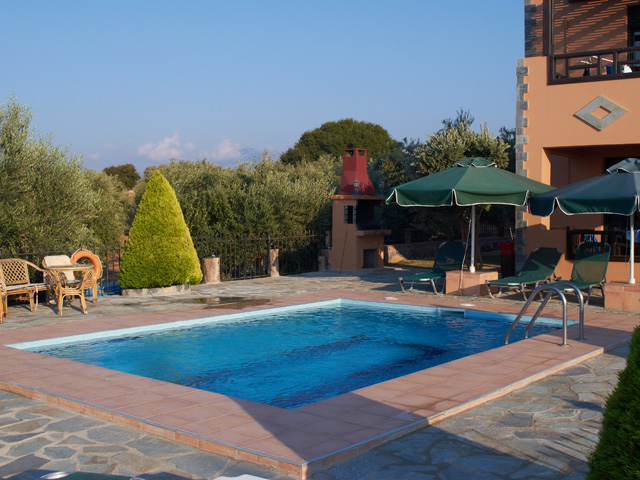 Villa Geropotamos - Swimming Pool