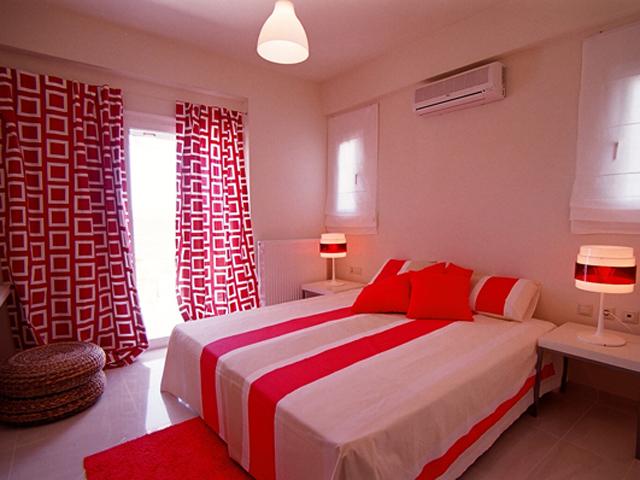 Rodanthi Luxurious Villas - Villa Mirto Bedroom