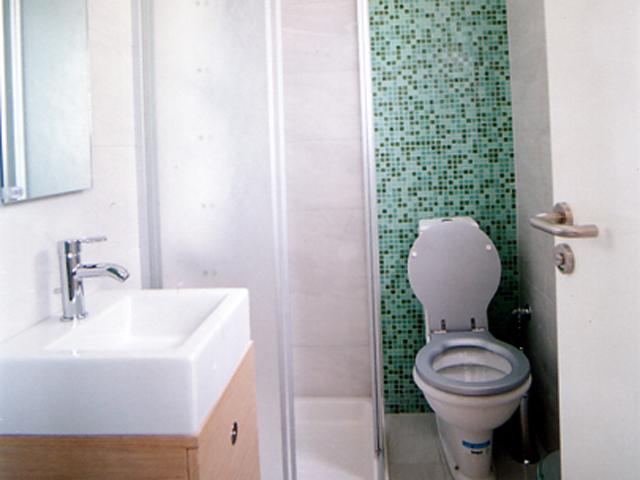 Rodanthi Luxurious Villas - Villa Mirto Bathroom