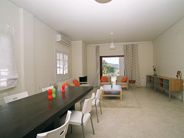 Rodanthi Luxurious Villas - Villa Anthi Living Room