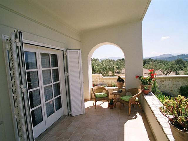 Rodanthi Luxurious Villas - Villa Anthi Balcony