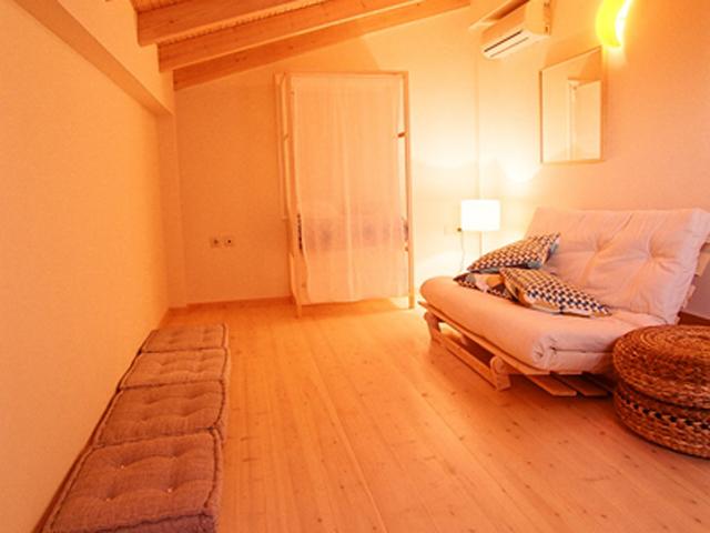 Rodanthi Luxurious Villas - Villa Rodo Living Room