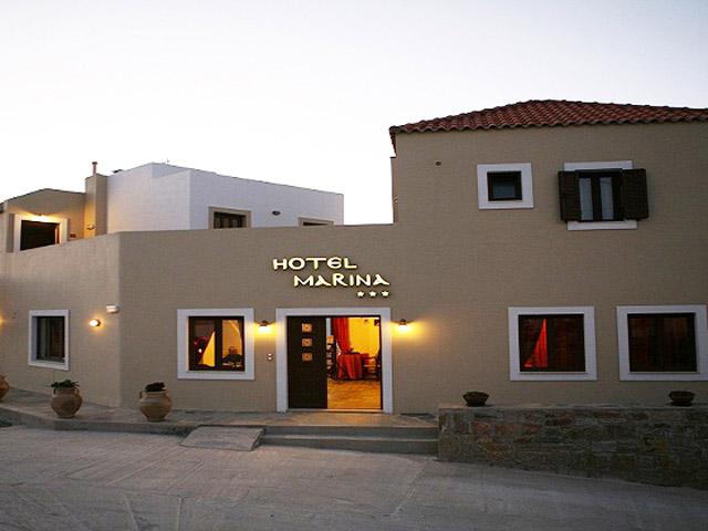 Marina Hotel - Exterior View