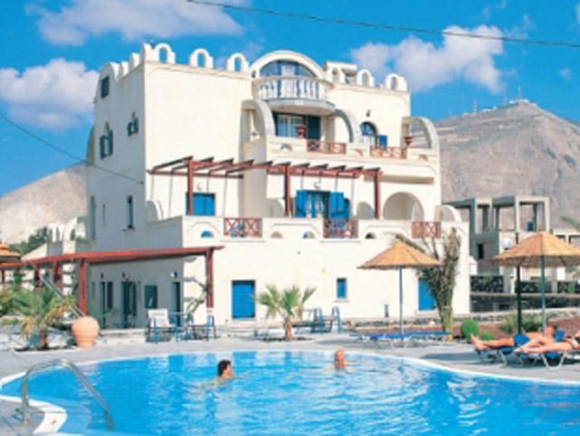 Marc Aggelos Studios Santorini (ex Meteora) - Exterior View