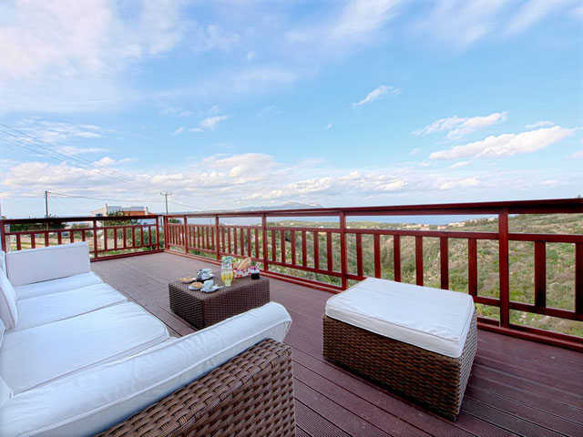 Katerina Vip Villa - Balcony