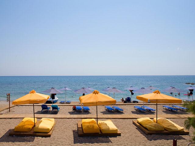 Mikri Poli Rhodes Resort - Beach