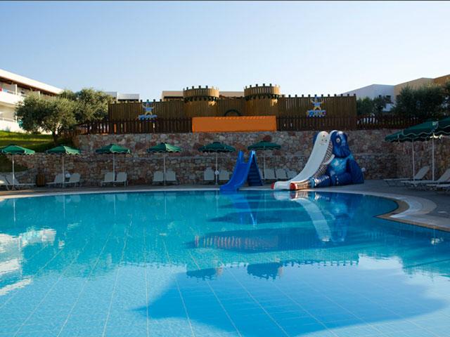 Mikri Poli Rhodes Resort - Pool Area