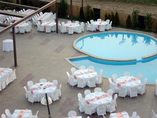 Achillio Hotel - Exterior View Pool Area