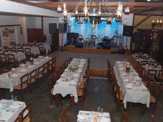Arolithos Traditional Cretan Village - Inside Restaurant