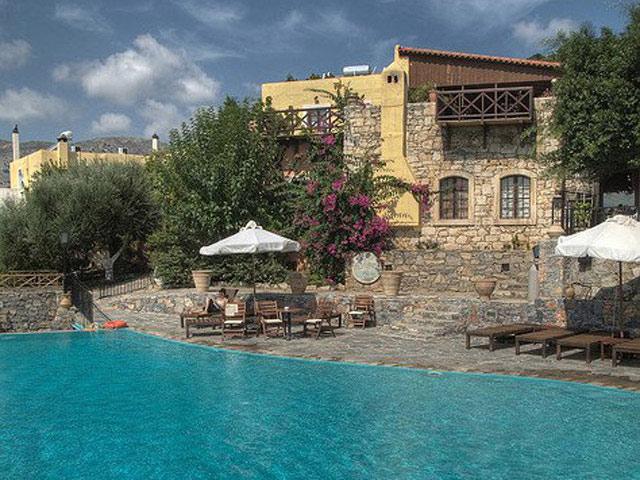 Arolithos Traditional Cretan Village - Pool Area
