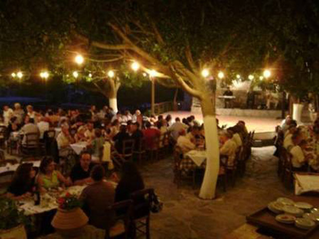 Arolithos Traditional Cretan Village - Open air Restaurant