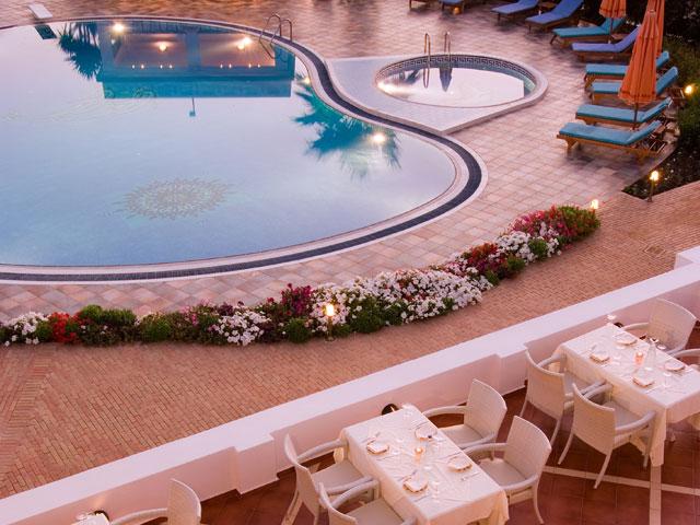 Porto Naxos Hotel - Pool Area