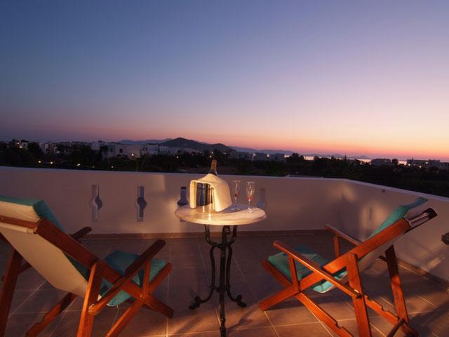 Porto Naxos Hotel - Balcony