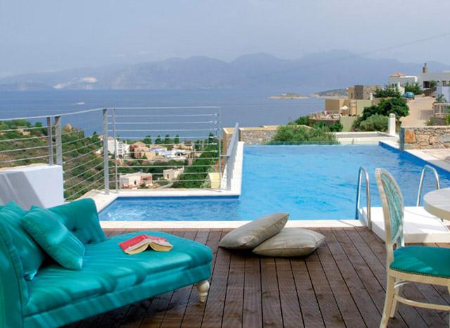Pleiades Luxurious Villas - Pool Area