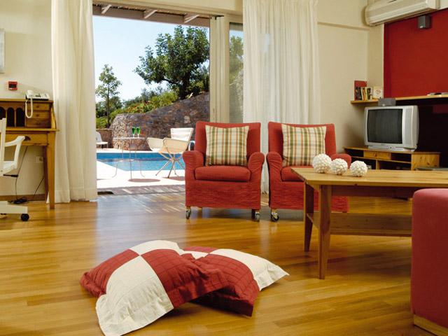 Pleiades Luxurious Villas - Living Room