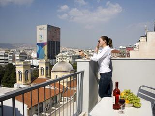 Piraeus Dream City Hotel - Double Room View