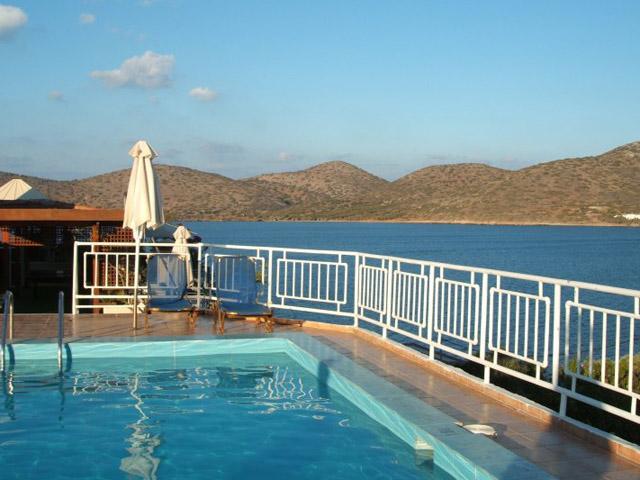 Elounda Akti Olous - Akti Olous Roof top Pool View