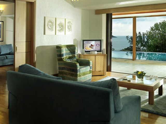 Porto Elounda Golf and SPA Resort - Presidential Suite Living Room