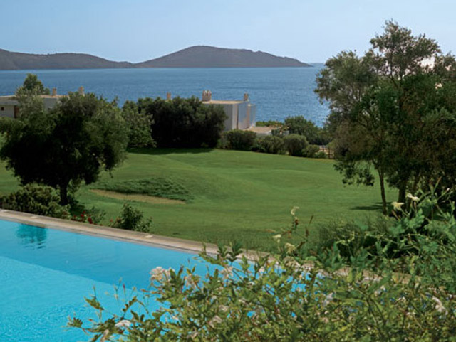 Porto Elounda Golf and SPA Resort - Deluxe Room Pool Area Exterior View