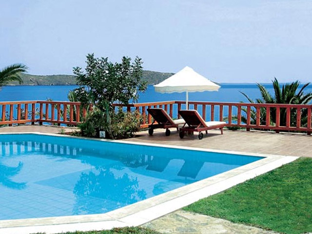 Elounda Mare Hotel - Relais & Chateaux - Presidential Suite pool area
