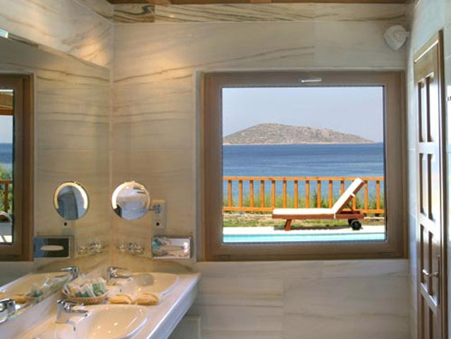 Elounda Mare Hotel - Relais & Chateaux - Presidential Suite Bathroom