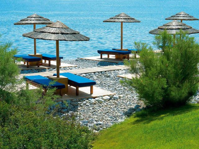 Blue Palace Resort & Spa - Exterior View Beach Area