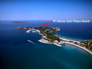 W Athens Astir Palace Beach - Panoramic View