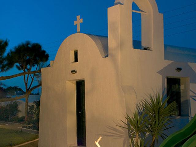 Kallisti Thera Hotel - Church