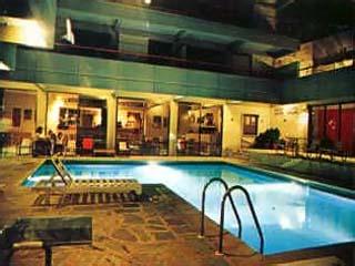 Apollonia Hotel Apartments - Swimming Pool at night