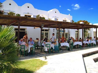 Santorini Image Hotel - Restaurant