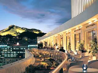 Athens Hilton Hotel - Galaxy terrace