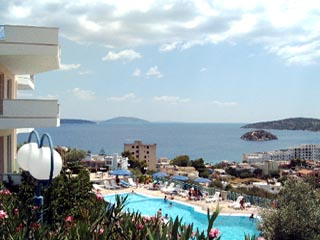 Panorama 1 Hotel Apartments in Tolo - Swimming Pool