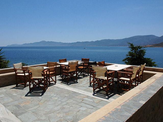 Lazareto Hotel - Sitting area