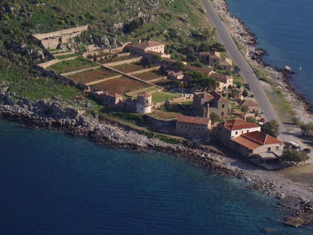 Lazareto Hotel - Aerial View