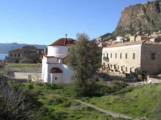 Xenonas Kellia - Exterior View