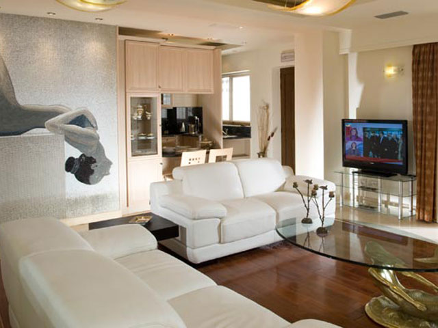 Caldera Villas - Living Room