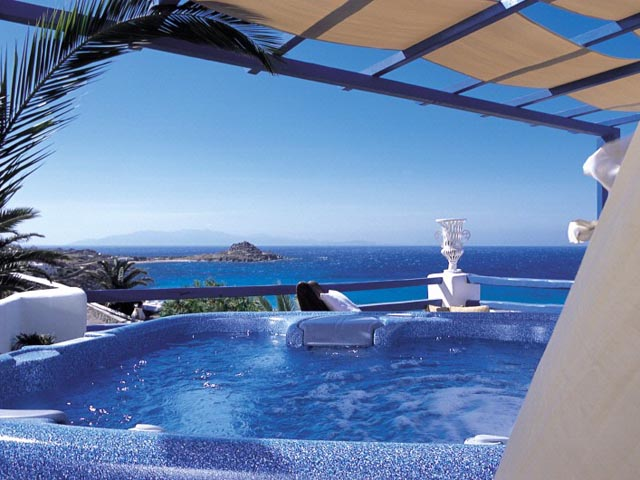 jacuzzi villa with sea - photo #39