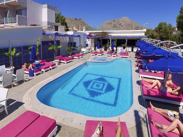 Book Now: Kolymbia Bay Art Hotel Adults Only