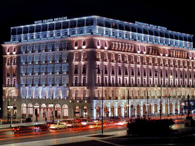 Book Now: Grande Bretagne Hotel