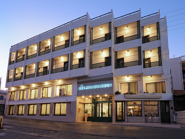 Book Now: Heronissos Hotel